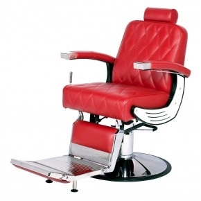 BARAN BARBER CHAIR WITH HEAVY DUTY PUMP\