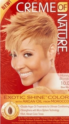 CREME OF NATURE  #`10.0 HONEY BLONDE Blond Miel