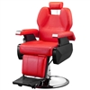 Classic Hydraulic Barber Chair Red Chair